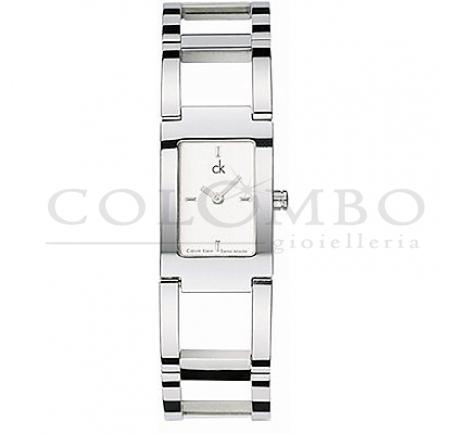 Calvin Klein - CK Orologio Dress Bianco Medium K0421140 - Colombo ...