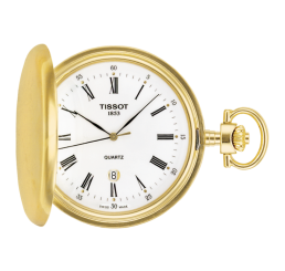 Tissot orologio Tasca SAVONNETTE Quarzo (ETA F06.111)
