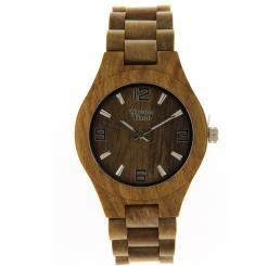 Green Time Orologio Solo Tempo 100% legno Sandalo verde naturale