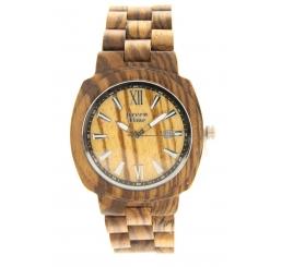 Green Time Orologio Solo Tempo 100% legno naturale